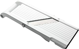 Benriner Mandoline超级切片机,4个日本不锈钢刀片,无BPA,14.5 x 5.25英寸,新型号