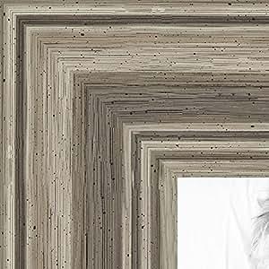 """画框银灰色凹凸画框。 5.08 cm 宽 银色 10 x 16"""" NM-10x16-0066-83186-939-1"""