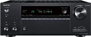Onkyo TX-NR696(B) 7.2 通道 AV 接收器(THX 影院声音,Dolby/DTS:X,Wifi,蓝牙,流,音乐应用程序,Spotify,Deezer,收音机,多房间,175 瓦/频道),黑色