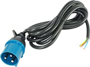 Conntek 29281-SOS 15 英尺 IEC 60309 32 安培 200-250-伏 Intl' Plug to Barewire