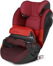 德国CYBEX 赛百斯 儿童安全座椅 派乐斯Pallas M-fix SL isofix硬接口 伦巴红 德国品牌 适合9-36kg,约9个月-12岁,带isofix硬接口底座,增强侧撞保护系统,多档座椅角度和高度调节[跨境自营]