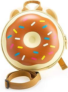 Kiddie Totes 儿童硬壳背包 巧克力棕色 Donut