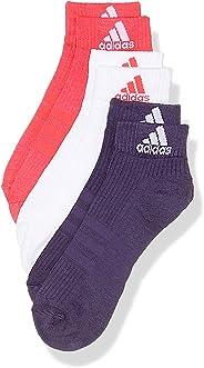 阿迪达斯男士3 - 条纹性能及半袜子 (3双)