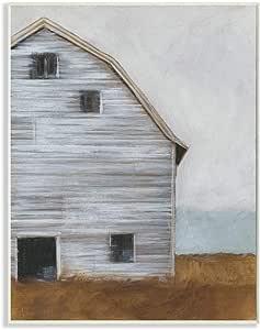 The Stupell 家居装饰系列 旧谷仓农场 油画 拉伸帆布 墙壁艺术 多种颜色 10x15 ccp-217_wd_10x15