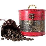 滇迈 云南勐海普洱茶熟茶 易武古树老茶头散茶醇香600克皮桶装