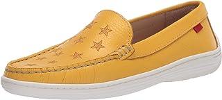 MARC JOSEPH NEW YORK 儿童皮鞋带金色星星细节乐福鞋