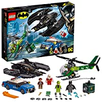 LEGO DC 蝙蝠俠:蝙蝠俠蝙蝠俠和騎士者靜音 76120 建筑套裝,新款 2019(489 件)