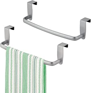 mdesign m2axisotctowelbars Pack of 2 - Silver