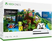 Xbox One S 1TB Konsole + Minecraft incl. Explorer's Pack & Complete Adventure