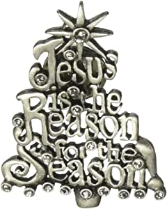 Cathedral Art CP810 Jesus is The Reason Decorative Pin, 1-3/4-Inch