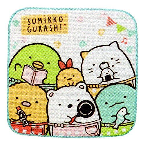 商品轻松熊 san-x 角落生物小方巾 可爱卡通超萌方巾 儿童婴儿洗澡巾