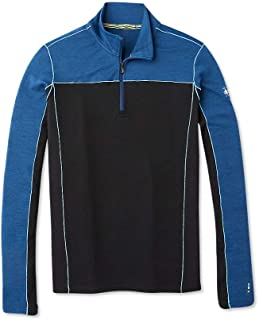 SmartWool 长袖 1⁄4 拉链 - 男士美利奴羊毛运动 250 性能套衫