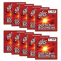 GHS Strings GBL 10 包镀镍电吉他弦GBL 10 pack 轻型