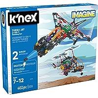 K'nex–喷射式飞机–2合1建筑套装–402件–7岁 +–工程教育玩具