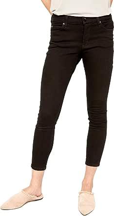 Lole 紧身 7/8 牛仔裤 27 黑色 LSW2735-BlckOverdyed-27-1-27