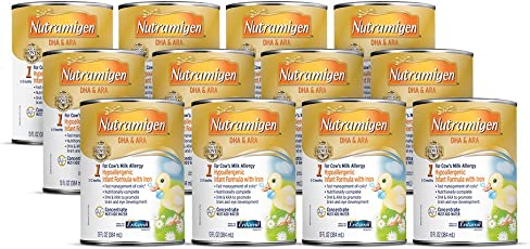 美赞臣Nutramigen婴儿配方1段奶粉 13液体盎司浓缩液(12件装)