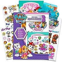 狗狗巡逻队派对礼品包 -- 狗狗巡逻队贴纸、临时纹身、海报等(女孩儿童狗狗巡逻派对用品) Paw Patrol Party Supplies