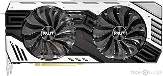 Palit GeForce RTX 2060 SUPER 8GB Jetstream GDDR6 显卡(GeForce RTX 2060 SUPER,8 GB,GDDR6,256 位,7680 x 4320 像素,PCI Express x16...