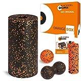 blackroll-orange ORANGE-Box Standard 系列- 筋膜滚轮,按摩球,Duoball 双球 - 橙色和 MINI 系列按摩滚轮,ORANGE-Box 自我按摩套装。 德国制造品质。