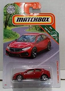 Matchbox 2019 MBX 公路旅行 14/20 - '17 本田思域两厢车(红色)