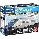 TOMIX N轨距 基本套装SD W7系 车钩 90168 铁路模型 入门套装