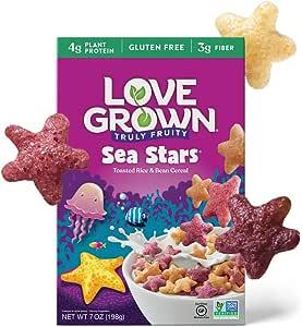 Love Grown Sea Stars Cereal, 7oz. Box, 6-pack