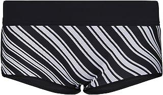 GlideSoul 女士活力条纹系列 0.5 毫米比基尼短裤