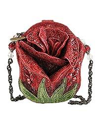 MARY FRANCES 玫瑰花蕾肩包