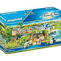Playmobil 摩比世界 Family Fun 70341 玩具畅游动物园,适于4岁以上儿童
