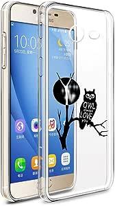 Galaxy J7 2017 有线接口/性别适配器 Clear - Owl on Tree