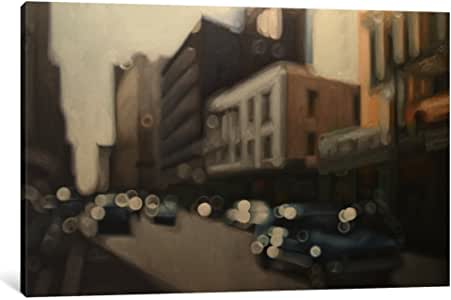 "iCanvasART 1 Piece Glint Street Canvas Print by Philip Barlow, 26 x 18""/1.5"" Deep"
