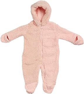 Wippette 女婴舒适羊羔绒婴儿车,带兜帽