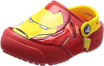 crocs ' FUN 实验室钢铁侠发光洞洞鞋