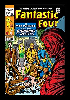 """Fantastic Four (1961-1998) #96 (Fantastic Four (1961-1996)) (English Edition)"",作者:[Stan Lee, Jack Kirby, Joe Sinnott]"