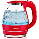 Ovente KG83 Series 1.5L Glass Electric Kettle