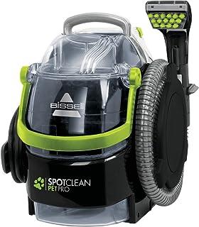 BISSELL 15585 SpotClean Pet Pro便携式吸尘器,黑色/绿色,750 W,84分贝