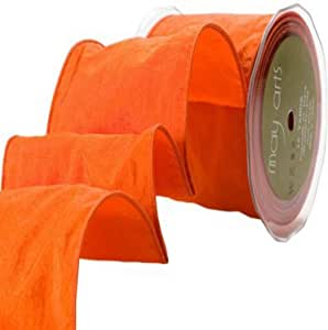 May Arts 4 英寸宽缎带 橙色 WZ-28