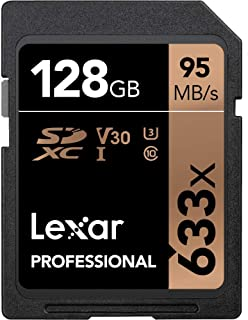 Lexar 雷克沙 Professional 633x 128GB SDXC UHS-I 存储卡