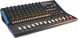 K KG-12B 12 声道混音器,带集成声卡、效果、蓝牙和 MP3 播放器
