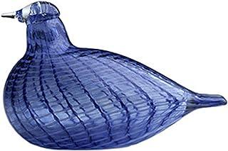 littala 001458 Toikka设计 玻璃鸟系列 蓝尾鸲 130 x 85 毫米