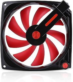 IN WIN 可变式 12cm 机箱风扇 红色/黑色 Mars (RED/BLACK)
