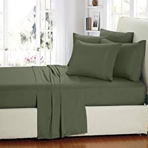 Duck River Textiles 6 件套超细纤维床单套装 淡紫色(Sage) 全部 MFFSG=16/3665