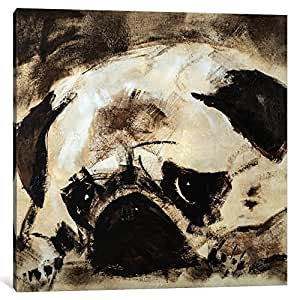"""iCanvasART 1 Piece Percival Canvas Print by Julian Spencer, 37 by 37""""/1.5"""" Deep"""