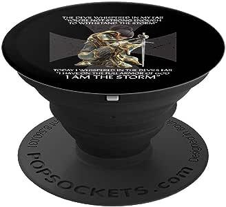 Christian Cross Gifts 女士妻子女子宗教圣经言流行袜子手机和平板电脑用支架。260027  黑色