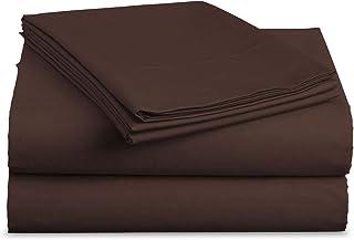 luxe 床上用品床单套装–磨毛超细纤维2000床上用品 - 皱褶,褪色,防污渍–防*–4件套–独特圣诞 presents 适用于家庭