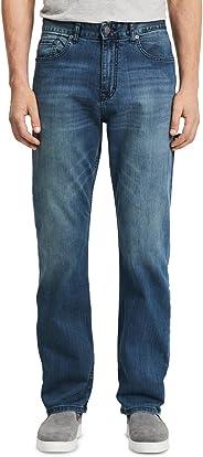 Calvin Klein 卡爾文·克萊恩 男式舒適休閑 寬松直筒牛仔褲