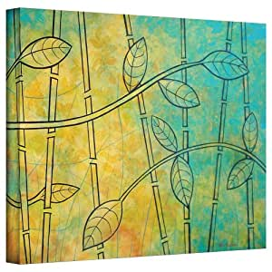 """ArtWall Herb Dickinson's Happy Jungle Gallery Wrapped Canvas, 14 x 18"""""""