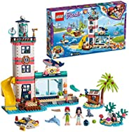 Lego 41380 Friends Lighthouse Center 4-Floors Vet Clinic Set with Mia and Emma Mini Dolls with Animals Figures
