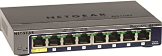 NETGEAR ProSAFE GS108T 8-Port Gigabit Smart Switch 10/100/1000Mbps