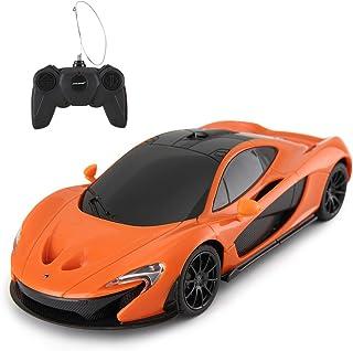 Rastar RC 汽车 | 1:24 比例McLaren P1 遥控玩具车,R/C 模型儿童车 - 橙色